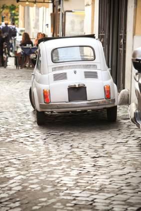 Gammal Fiat 500