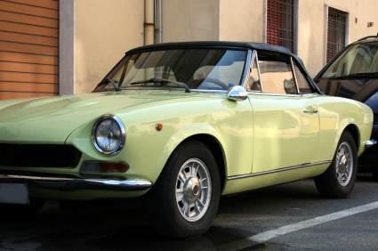 Sportbil i Rom