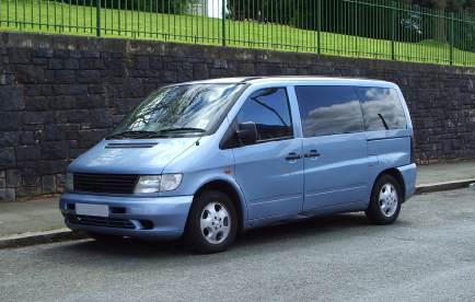 Transportbil Mercedes Vito