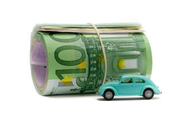 VW Bubbla leksaksbil